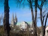 Шартрский кафедральный собор возводился на пожертвования всей Франциии