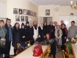 Снимок на память с клириком Трехсвятительского подворья иеромонахом Иосифом (Павлинчуком)