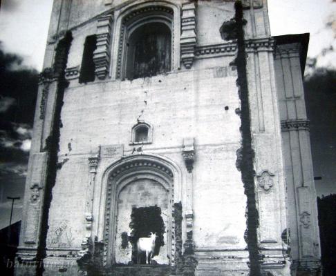 Храм Сретенского монастыря после закрытия пришел в запустение