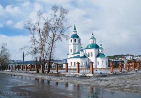 Спасская церковь – первая на Прибайкальской земле
