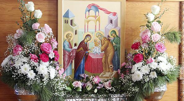 Сретение Господне празднуется 15 февраля
