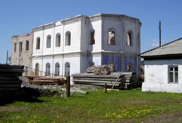 Ильинский храм во время реставрации (2008 год)