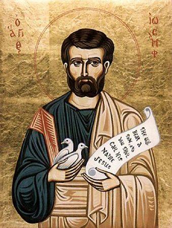 Иосиф Праведный, Обручник